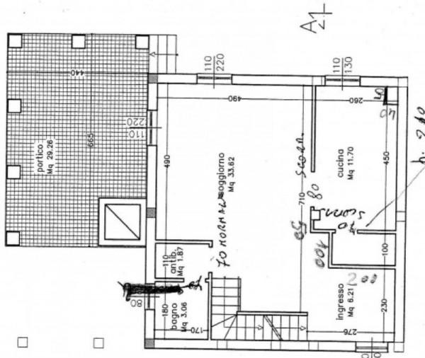 Casa indipendente in vendita a Castelnuovo Magra, Colombiera, Con giardino, 200 mq - Foto 3
