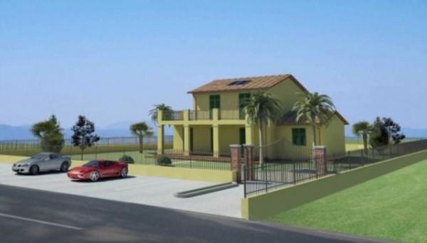 Villa in vendita a Ortonovo, Con giardino, 175 mq - Foto 1