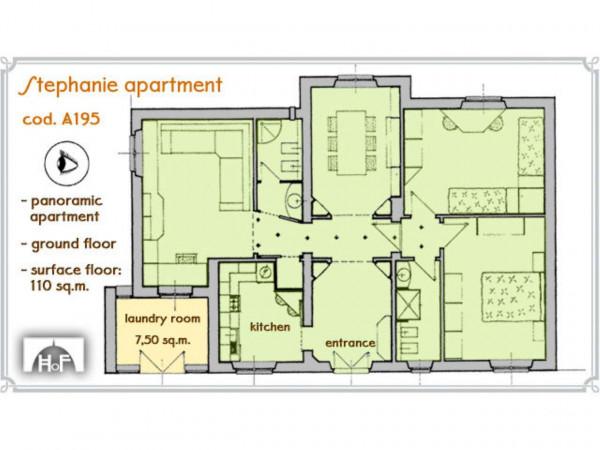 Appartamento in affitto a Firenze, Pian Dei Giullari, Arredato, con giardino, 110 mq - Foto 2