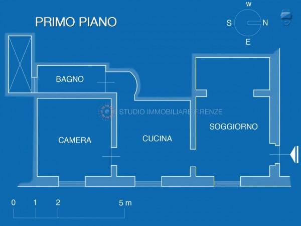 Appartamento in vendita a Firenze, 55 mq - Foto 19