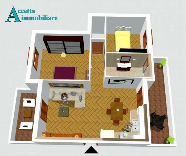 Appartamento in vendita a Taranto, Residenziale, 70 mq - Foto 6