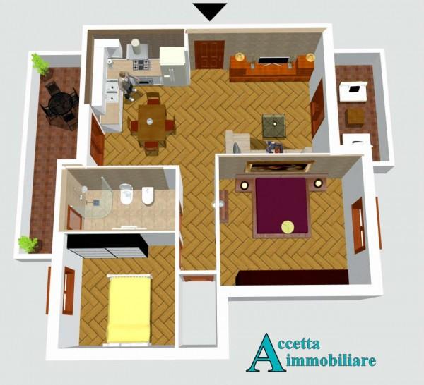 Appartamento in vendita a Taranto, Residenziale, 70 mq - Foto 5