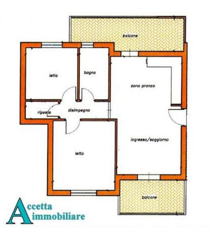 Appartamento in vendita a Taranto, Residenziale, 70 mq - Foto 7