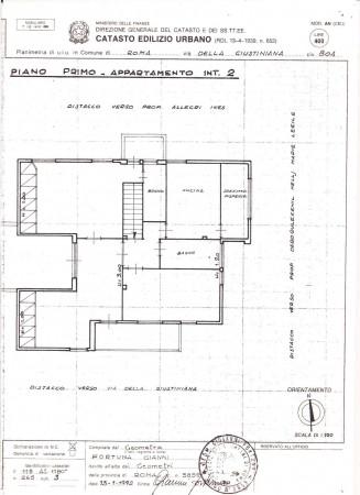 Villa in vendita a Roma, Giustiniana, Con giardino, 485 mq - Foto 3