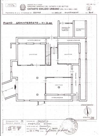 Villa in vendita a Roma, Giustiniana, Con giardino, 485 mq - Foto 2