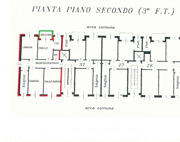Appartamento in vendita a Alpignano, Con giardino, 99 mq - Foto 2