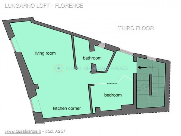 Appartamento in affitto a Firenze, Arredato, 30 mq - Foto 2