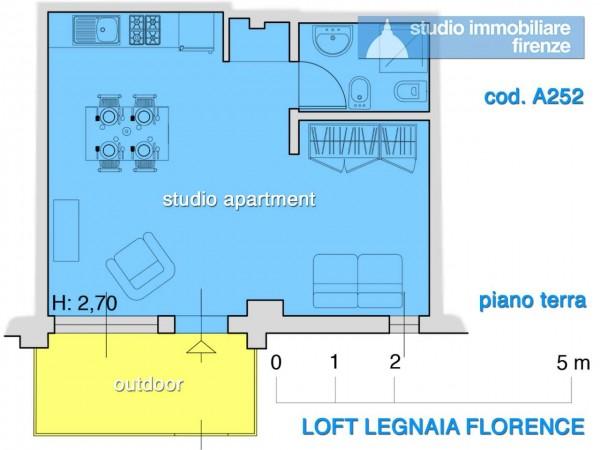 Appartamento in affitto a Firenze, Arredato, 34 mq - Foto 11