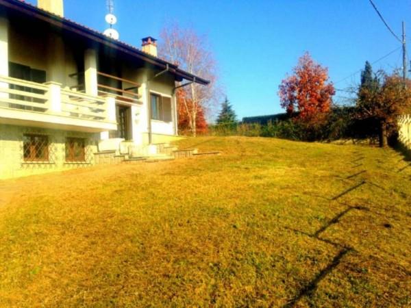 Villa in affitto a Pecetto Torinese, Con giardino, 200 mq