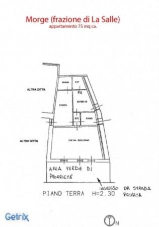 Appartamento in vendita a La Salle, Arredato, con giardino, 75 mq - Foto 2