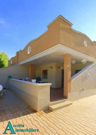 Villa in vendita a Leporano, Residenziale, Con giardino, 83 mq