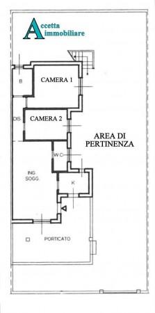 Villa in vendita a Leporano, Residenziale, Con giardino, 83 mq - Foto 2