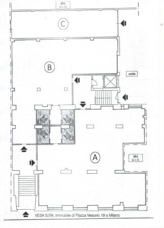 Ufficio in affitto a Milano, 260 mq - Foto 2