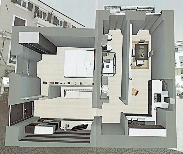 Appartamento in vendita a Sarzana, Centro Storico
