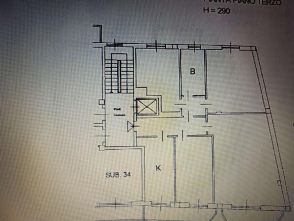 Appartamento in vendita a Varese, Centro, 152 mq - Foto 50