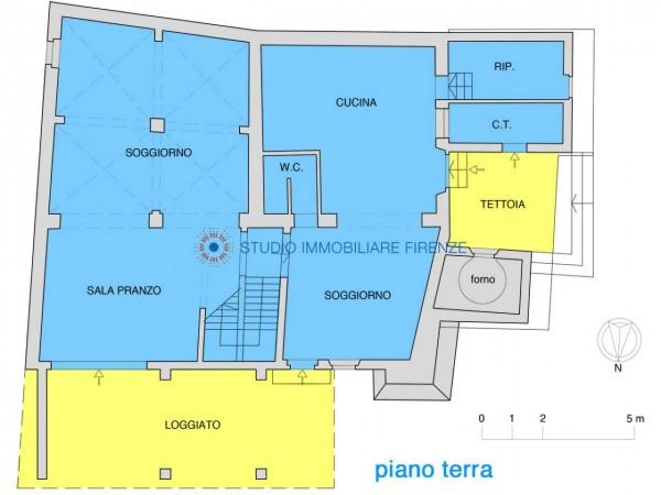 Rustico/Casale in vendita a Impruneta, Con giardino, 330 mq - Foto 2