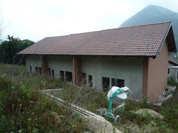 Villetta a schiera in vendita a San Germano Chisone, Borgata Chiabrandi, Con giardino, 125 mq - Foto 3