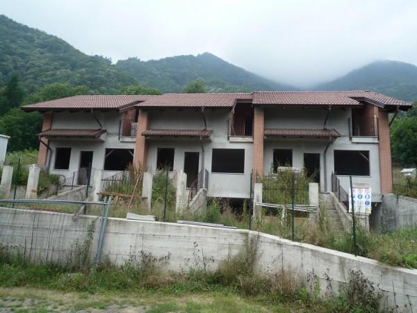 Villetta a schiera in vendita a San Germano Chisone, Borgata Chiabrandi, Con giardino, 125 mq - Foto 14