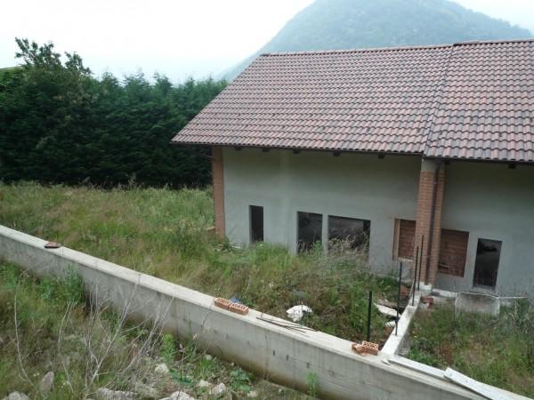 Villetta a schiera in vendita a San Germano Chisone, Borgata Chiabrandi, Con giardino, 125 mq - Foto 2