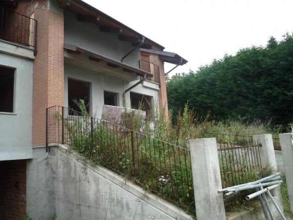 Villetta a schiera in vendita a San Germano Chisone, Borgata Chiabrandi, Con giardino, 125 mq - Foto 4