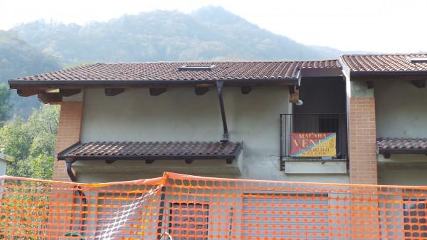 Villetta a schiera in vendita a San Germano Chisone, Borgata Chiabrandi, Con giardino, 125 mq - Foto 15