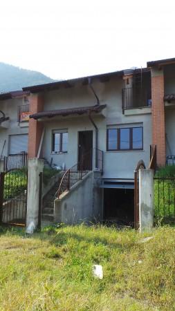 Villetta a schiera in vendita a San Germano Chisone, Borgata Chiabrandi, Con giardino, 125 mq - Foto 16