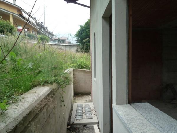 Villetta a schiera in vendita a San Germano Chisone, Borgata Chiabrandi, Con giardino, 125 mq - Foto 6