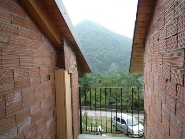 Villetta a schiera in vendita a San Germano Chisone, Borgata Chiabrandi, Con giardino, 125 mq - Foto 7