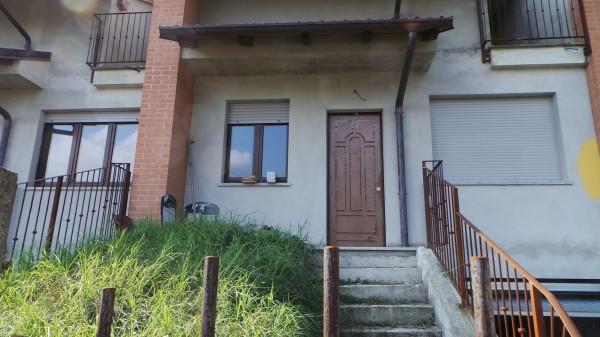 Villetta a schiera in vendita a San Germano Chisone, Borgata Chiabrandi, Con giardino, 125 mq - Foto 1
