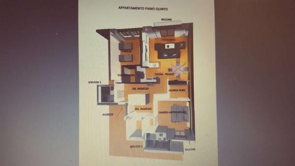 Appartamento in vendita a Varese, Centro Città, 130 mq - Foto 35