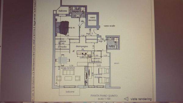 Appartamento in vendita a Varese, Centro Città, 130 mq - Foto 36