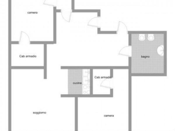Appartamento in vendita a Varese, Centro Città, 130 mq - Foto 3