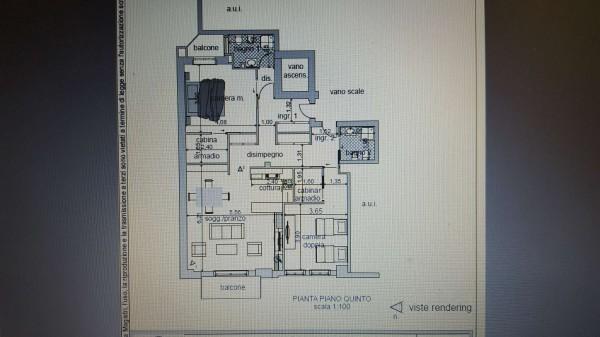 Appartamento in vendita a Varese, Centro Città, 130 mq - Foto 30
