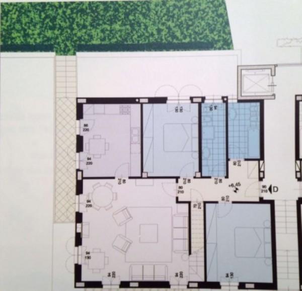 Appartamento in vendita a Moncalieri, Con giardino, 230 mq - Foto 5