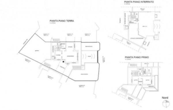 Villa in vendita a Pino Torinese, Con giardino, 200 mq - Foto 2