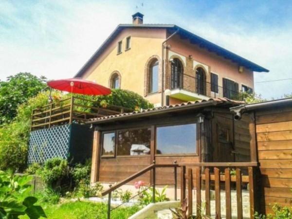 Villa in vendita a Pino Torinese, Con giardino, 430 mq - Foto 4