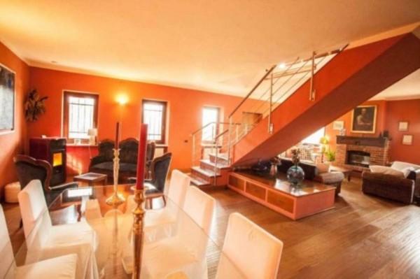 Villa in vendita a Pino Torinese, Con giardino, 430 mq - Foto 3