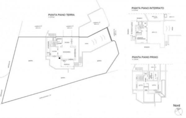 Villa in vendita a Pino Torinese, Con giardino, 220 mq - Foto 4