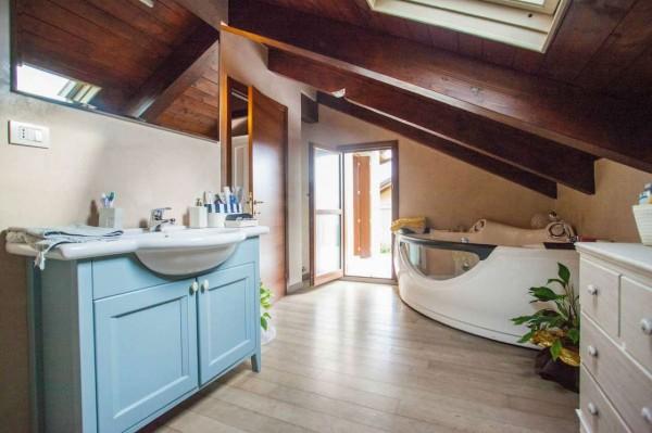 Villa in vendita a Pino Torinese, Arredato, con giardino, 350 mq - Foto 15