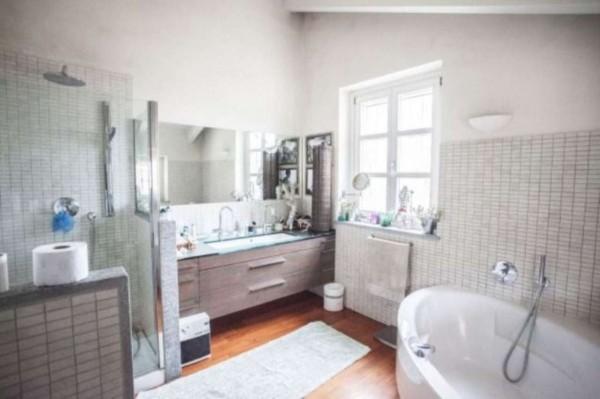 Villa in vendita a Torino, Collina, Con giardino, 370 mq - Foto 7
