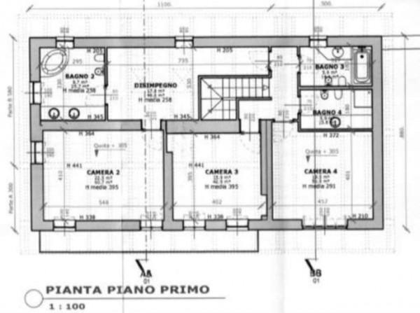 Villa in vendita a Torino, Collina, Con giardino, 370 mq - Foto 4