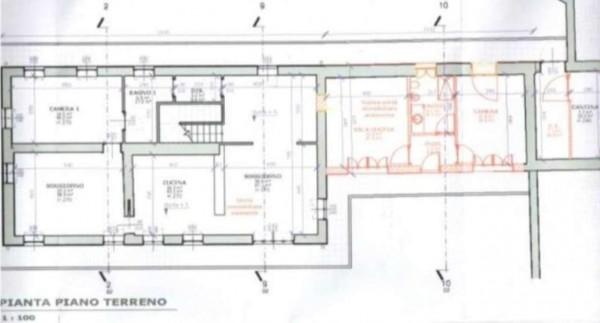 Villa in vendita a Torino, Collina, Con giardino, 370 mq - Foto 2