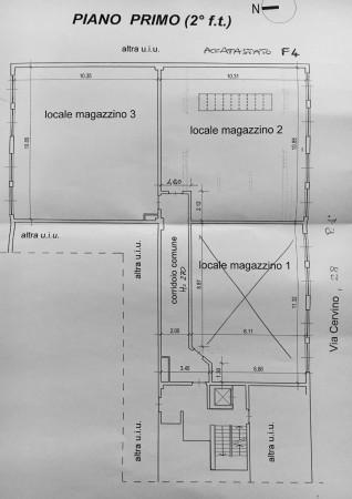 Ufficio in vendita a Torino, Barriera Milano, 400 mq - Foto 3