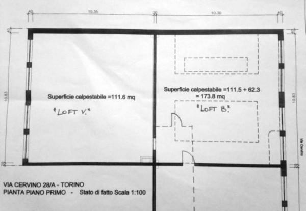 Ufficio in vendita a Torino, Barriera Milano, 400 mq - Foto 7