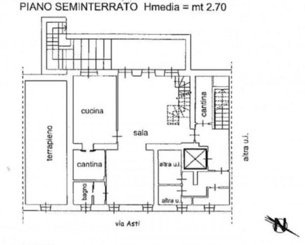 Appartamento in vendita a Torino, Precollina, Con giardino, 260 mq - Foto 3