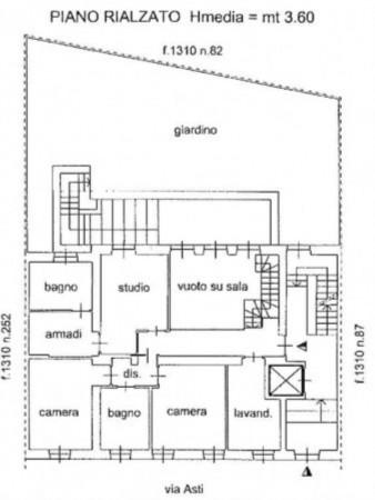 Appartamento in vendita a Torino, Precollina, Con giardino, 260 mq - Foto 2