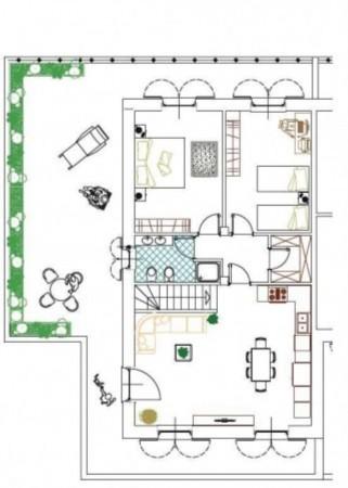 Appartamento in vendita a Volvera, Con giardino, 80 mq - Foto 5