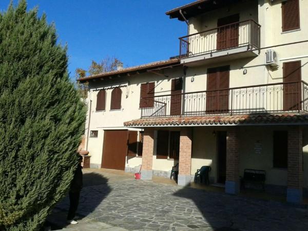 Villa in vendita a Casorzo, Arredato, con giardino, 220 mq