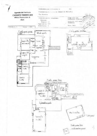 Villa in vendita a Montafia, Residenziale, Con giardino, 340 mq - Foto 3