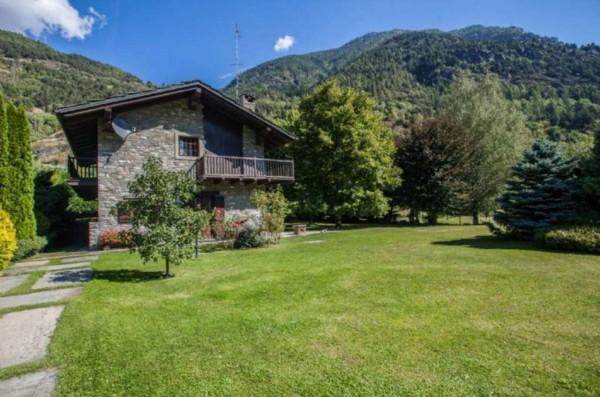 Villa in vendita a La Salle, Frazione Echarlod, Con giardino, 300 mq - Foto 27